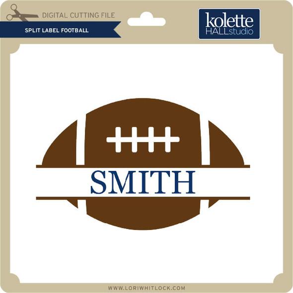 Split Label Football