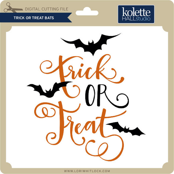 Trick or Treat Bats