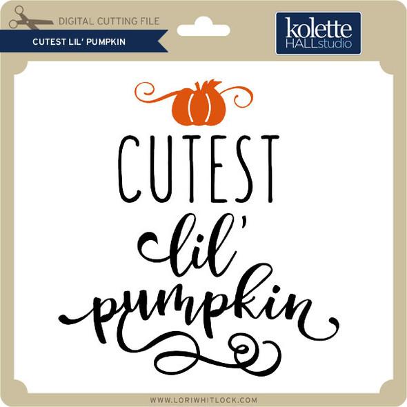 Cutest Lil' Pumpkin