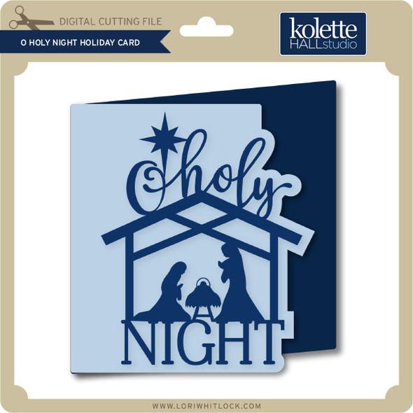 O Holy Night Holiday Card
