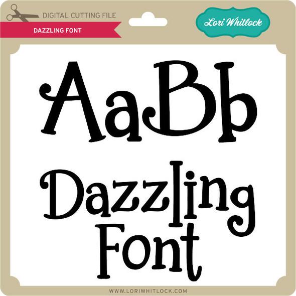 Dazzling Font