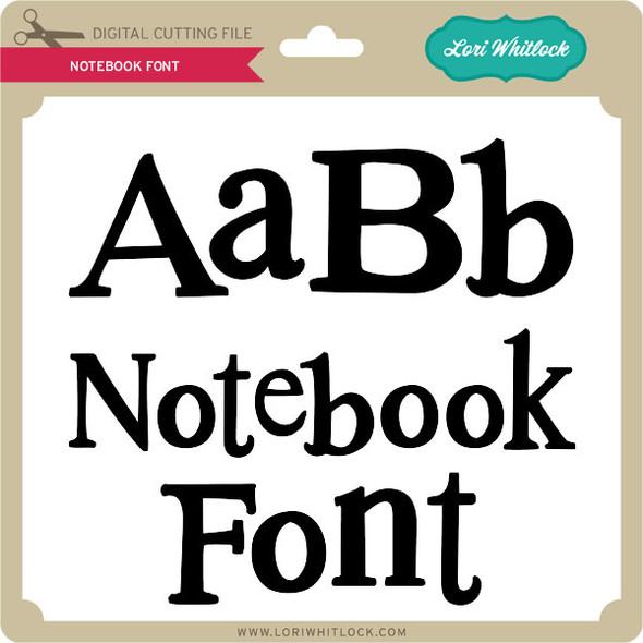 Notebook Font