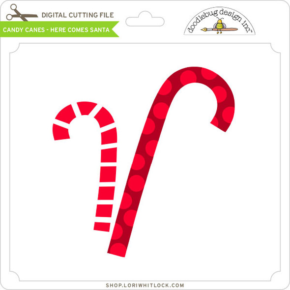 Candy Canes - Here Comes Santa