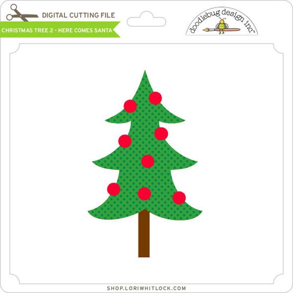 Christmas Tree 2 - Here Comes Santa