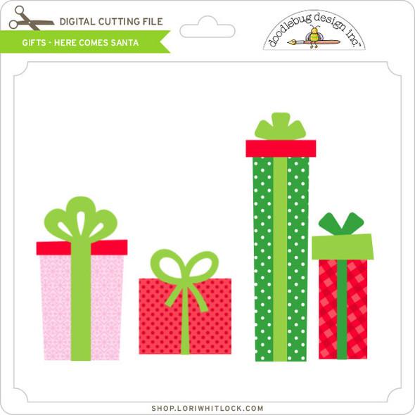 Gifts - Here Comes Santa