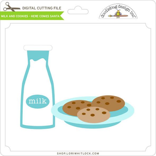 Milk and Cookies - Here Comes Santa
