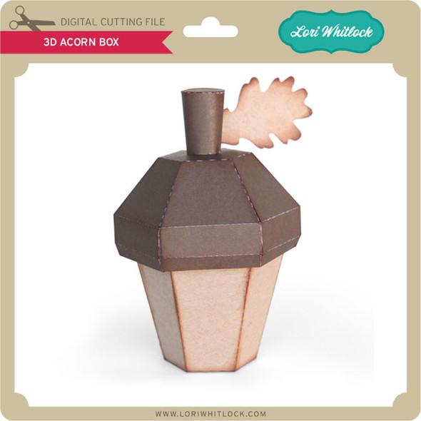 3D Acorn Box