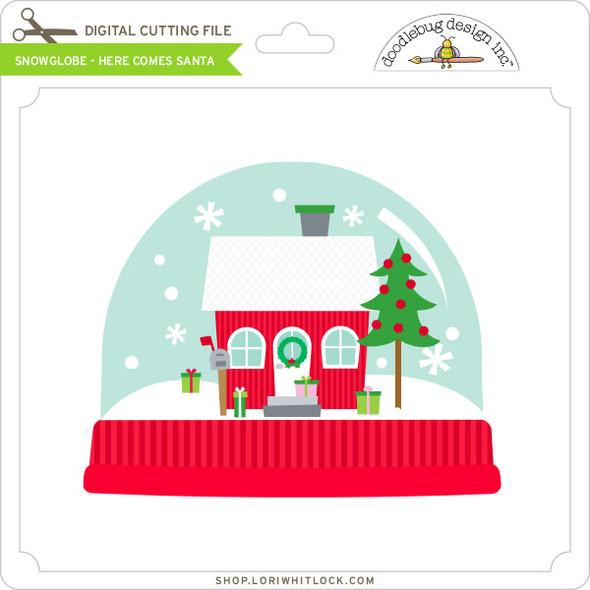 Snowglobe - Here Comes Santa