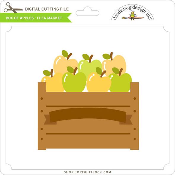 Box of Apples - Flea Market