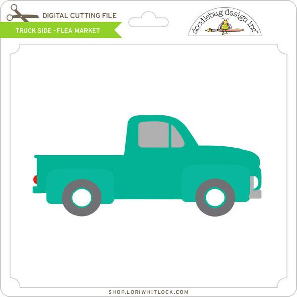 Truck Side - Flea Market