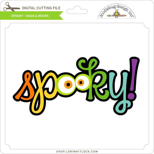 Spooky - Boos & Brews