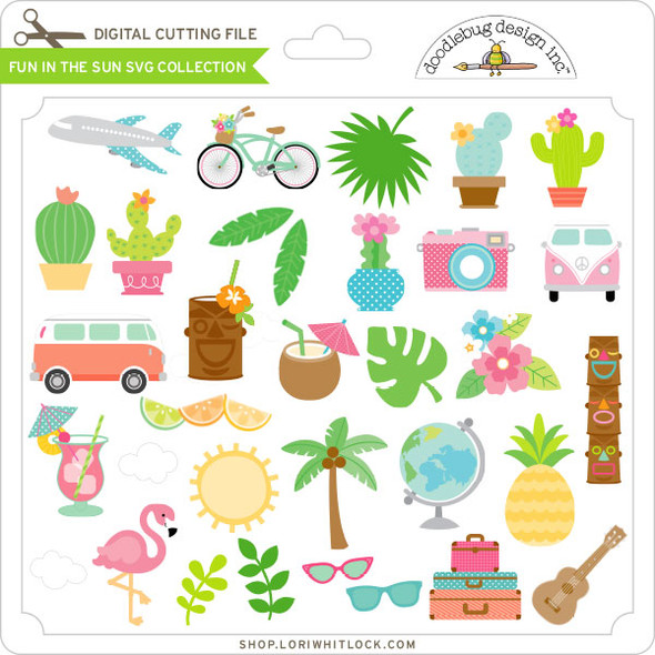Fun in the Sun SVG Collection