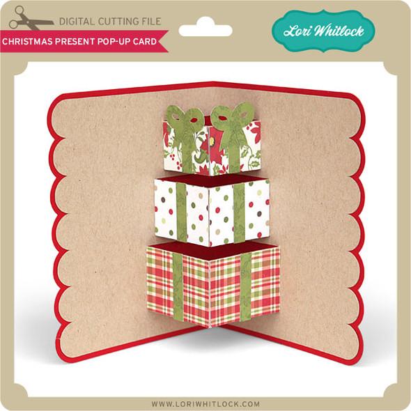 Christmas Present Pop Up Card