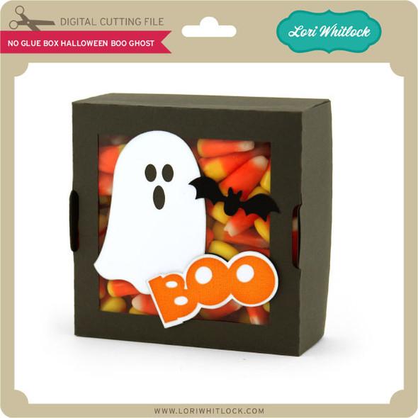 No Glue Box Halloween Boo Ghost