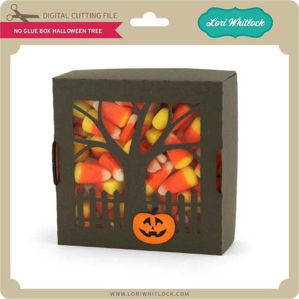 No Glue Box Halloween Tree