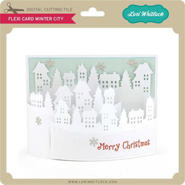 Flexi Card Winter City