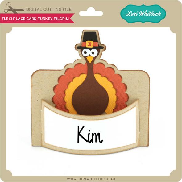 Flexi Place Card Turkey Pilgrim