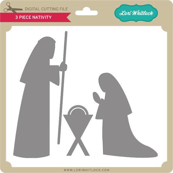 3 Piece Nativity