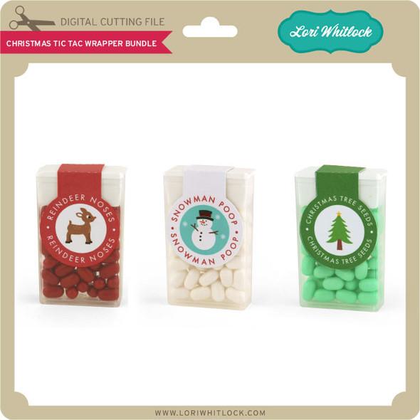 Christmas Tic Tac Wrapper Bundle