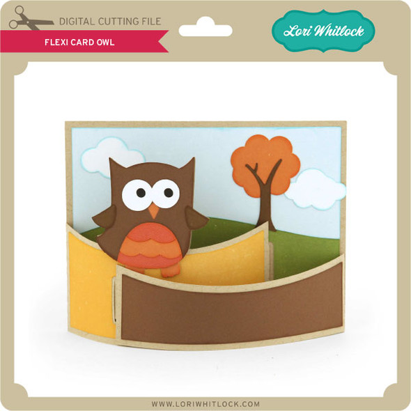 Flexi Card Owl