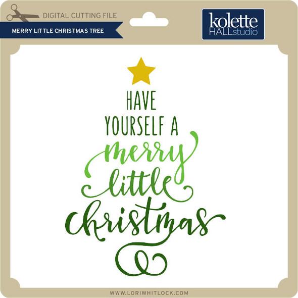 Merry Little Christmas Tree 2