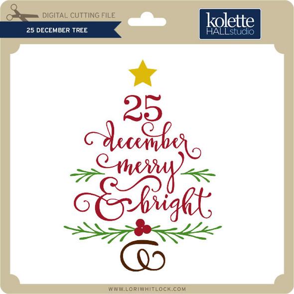 25 December Tree