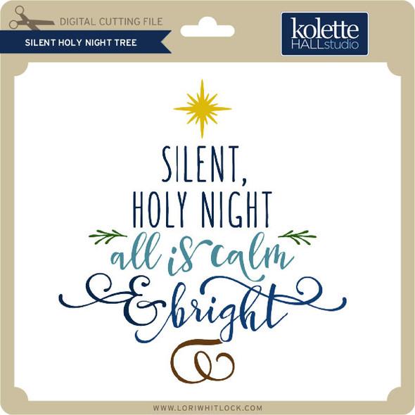 Silent Holy Night Tree