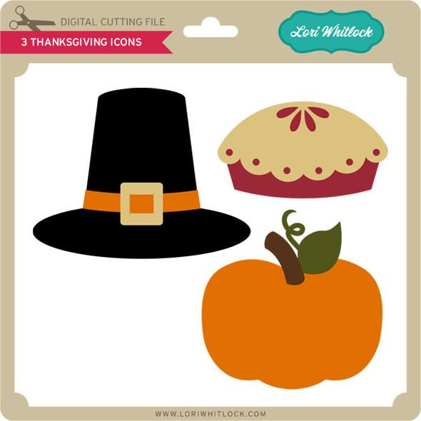 3 Thanksgiving Icons