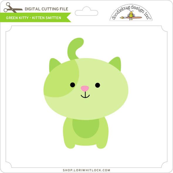 Green Kitty Kitten Smitten