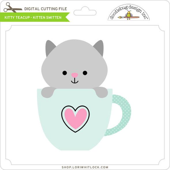 Kitty Teacup Kitten Smitten