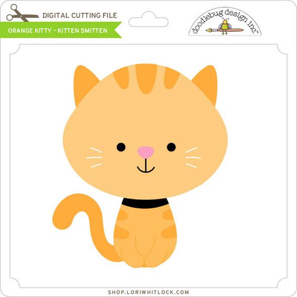 Orange Kitty Kitten Smitten