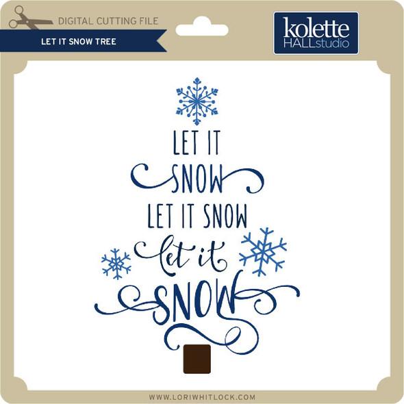 Let it Snow Tree