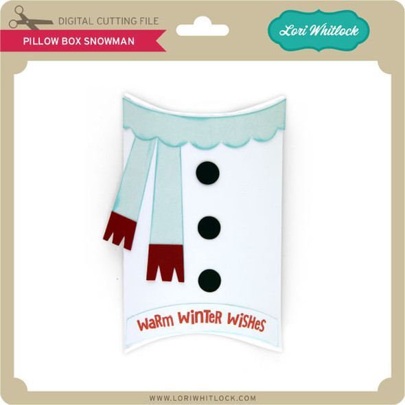 Pillow Box Snowman