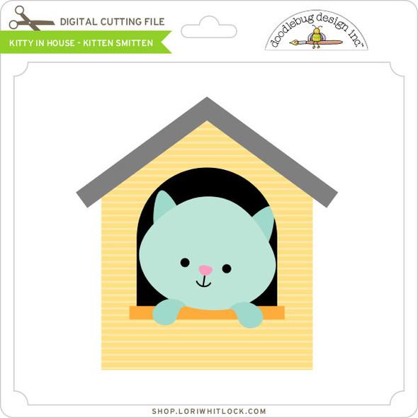 Kitty In House Kitten Smitten