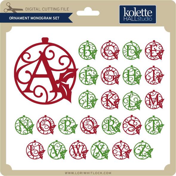 Ornament Monogram Set