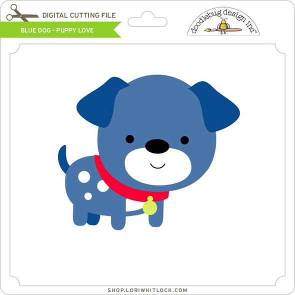Blue Dog Puppy Love