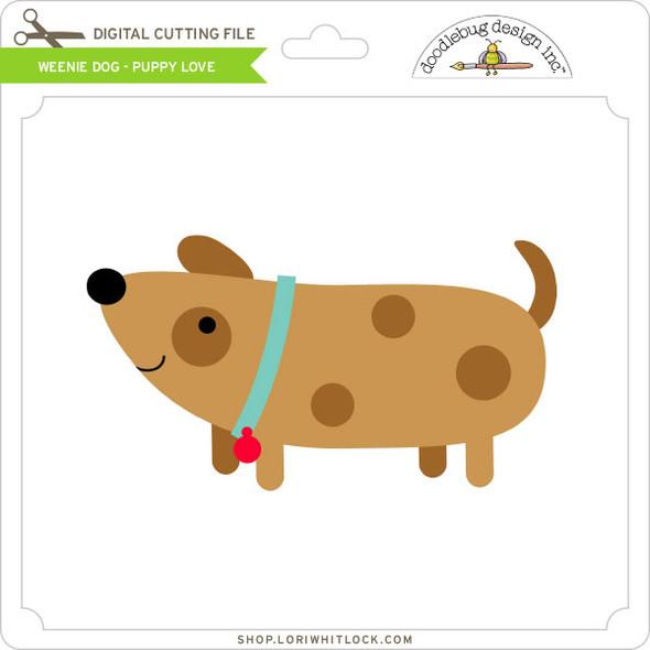 Weenie Dog Puppy Love