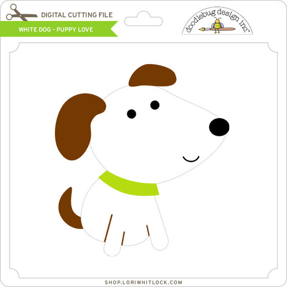 White Dog Puppy Love