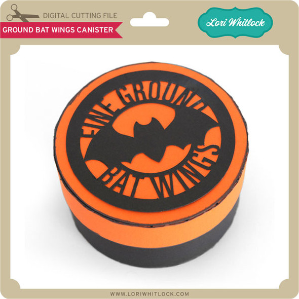 Ground Bat Wings Canister