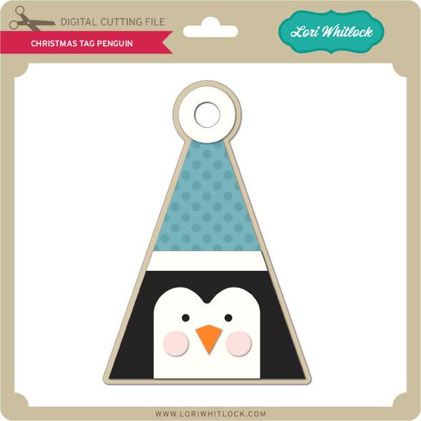 Christmas Tag Penguin