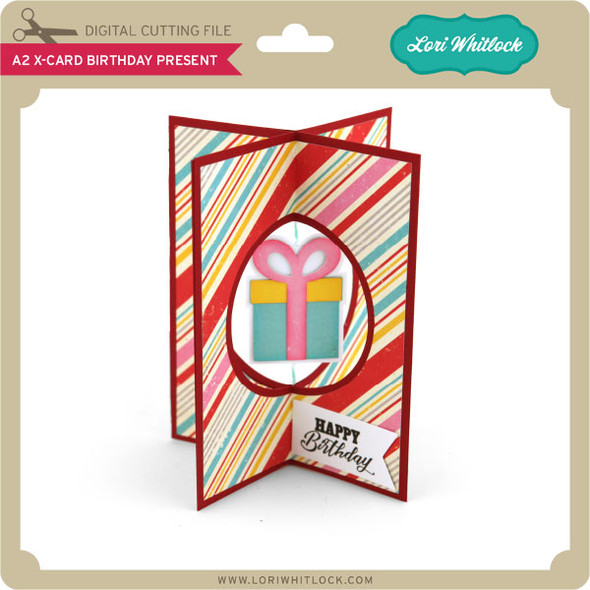 A2 X-Card Birthday Present