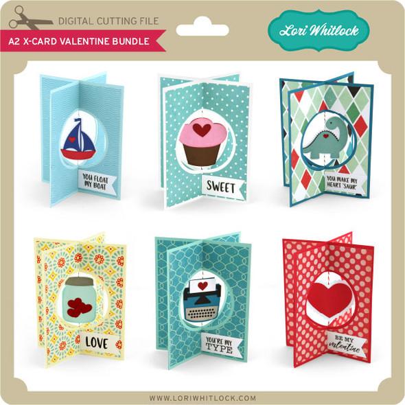A2 X-Card Valentine Bundle