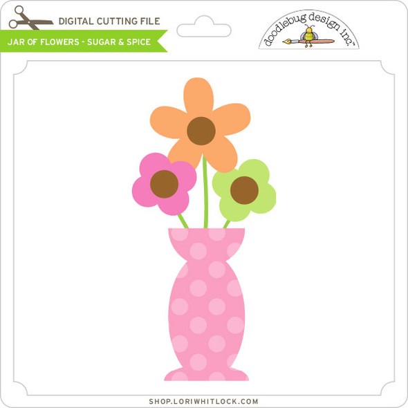 Jar of Flowers Sugar & Spice