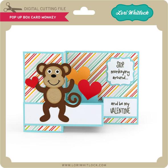 Pop Up Box Card Monkey