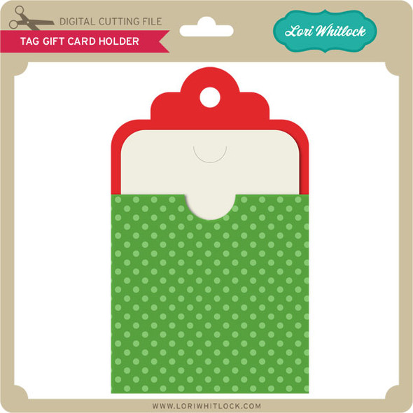 Tag with Gift Card Holder