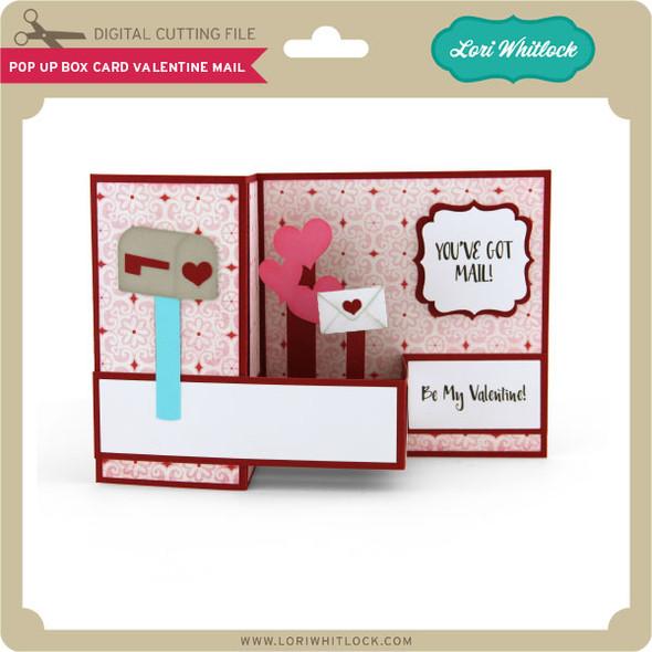 Pop Up Box Card Valentine Mail