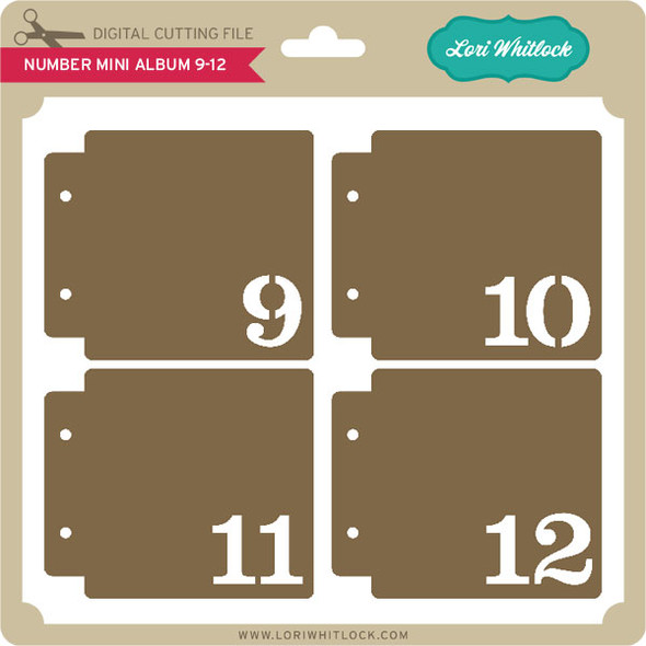 Number Mini Album 9-12