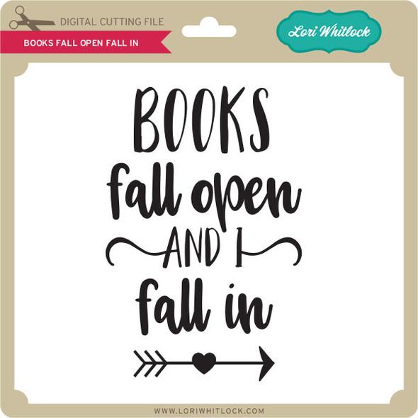 Books Open Fall In