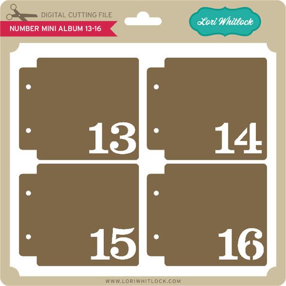 Number Mini Album 13-16
