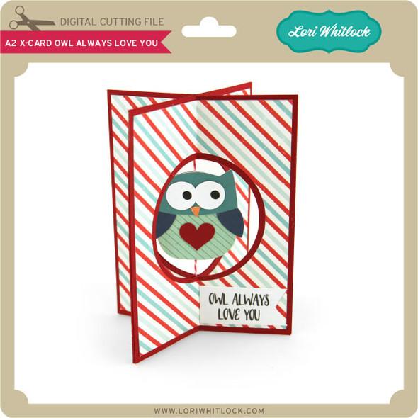 A2 X-Card Owl